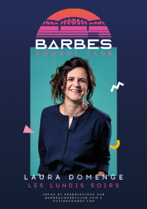 LAURA DOMENGE BARBES COMEDY CLUB